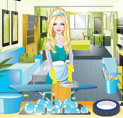 Gina - House Cleaning Games 6.7.2 screenshots 2