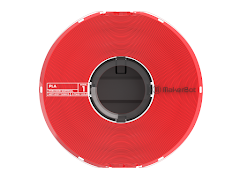 MakerBot PLA Precision Filament - 1.75mm (0.75kg) True Red