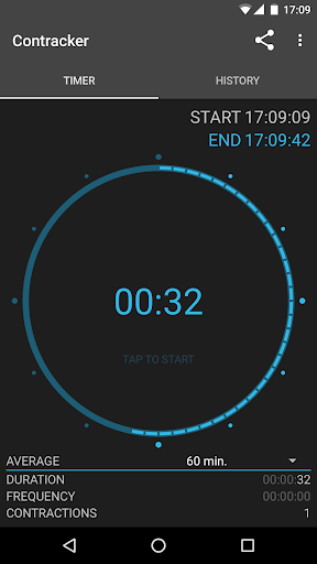 Contracker - contraction timer