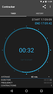 Contracker - contraction timer- screenshot thumbnail