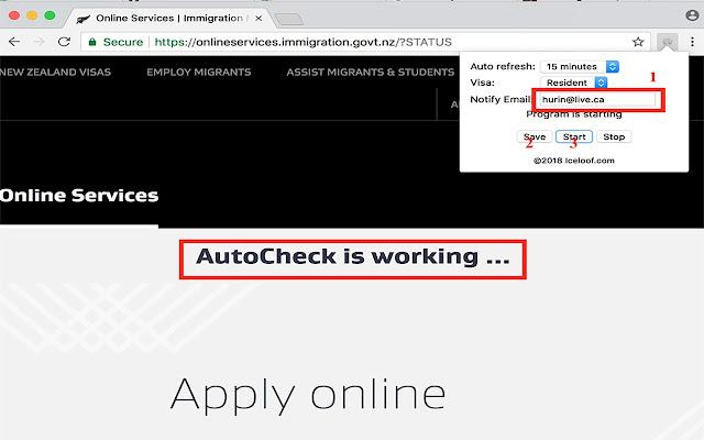 NZ VISA AutoCheck