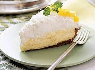 SUGAR FREE COCONUT CREME PIE