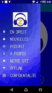 Radio Zamar App - náhled