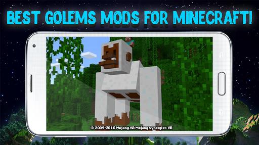 Mod golems for Minecraft 2.3.27 screenshots 1