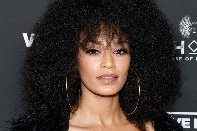 Pearl Thusi's hair is #goals.
