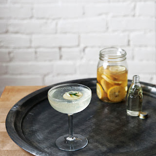 Rosemary + Meyer Lemon Vodka Fizz
