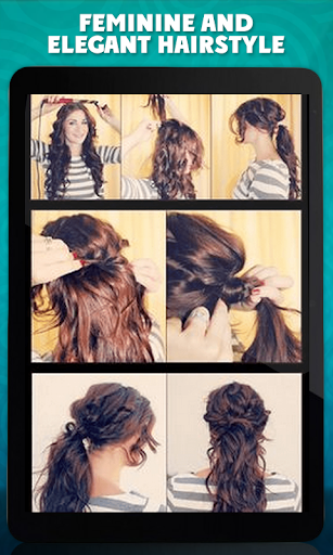 Tutorial Of Delicate Hairstyle