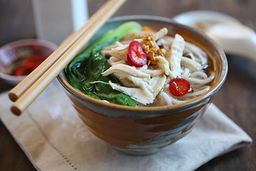 Asian style noodle soup 2