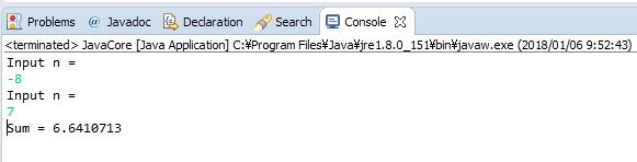 Java - S(n) = 1/2 + 3/4 + 5/6 +...+ (2n + 1)/(2n + 2)