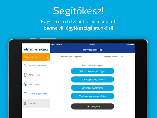 Elmű-Émász EnergiApp screenshot 10