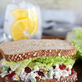 Cranberry Walnut Chicken Salad.