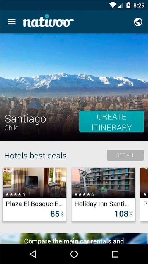Santiago Travel Guide Chile- screenshot