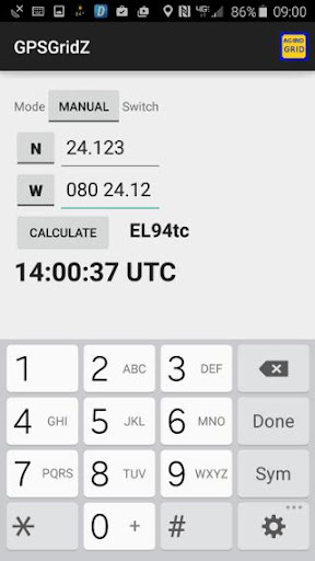 GPS to Maidenhead calculator