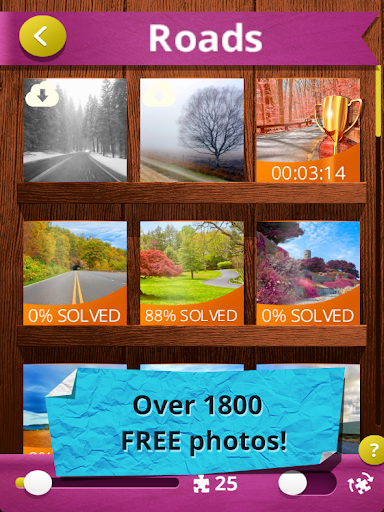 Jigsaw Puzzles Real 3.9.0 screenshots 6