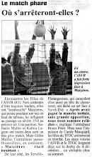 Photo: 21-11-95 R1F Derby annoncé entre l'ASVB et le TFOC
