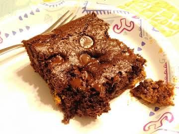 Chocolate Peanut Butter Dump Cake