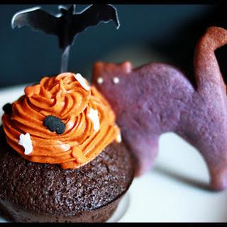 Purple Cat Cookies.