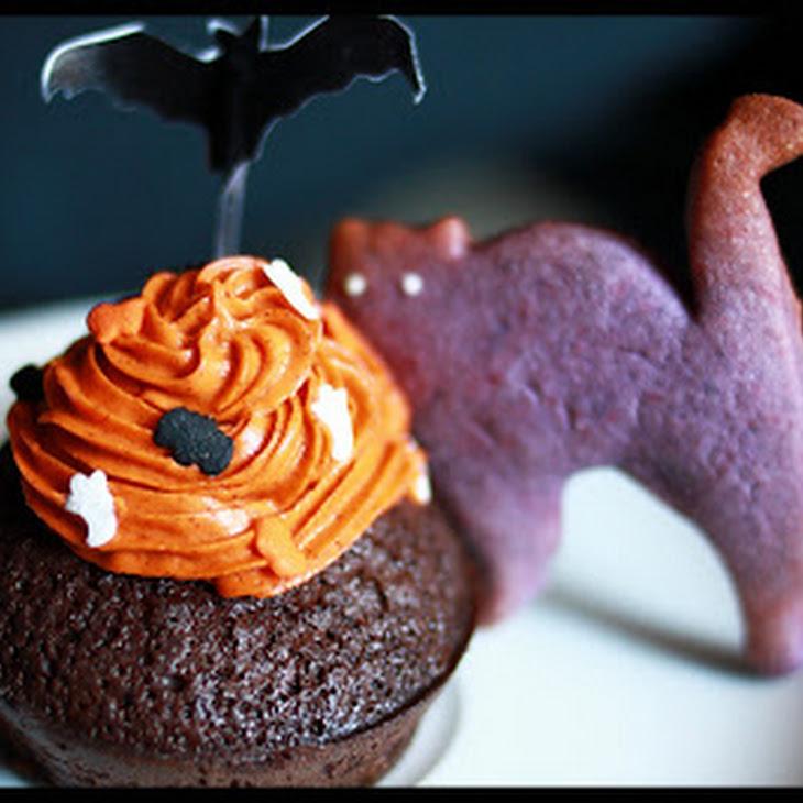 Purple Cat Cookies