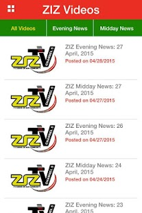 ZIZ News- screenshot thumbnail