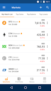 Crypto Price IQ - Crypto Portfolio & Price Alerts Screenshot