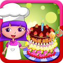 Anna's birthday cake bakery shop - cake maker game icon
