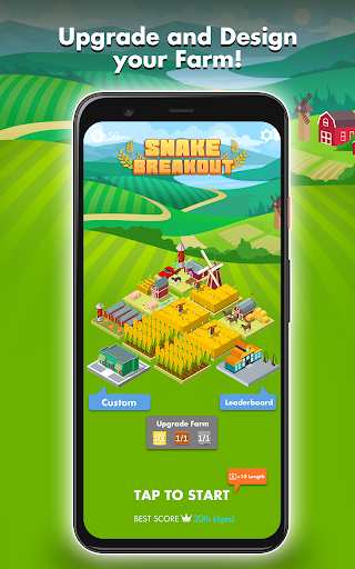 Snake Breakout: Fun PvP Battle Arcade Racing Games screenshots 3
