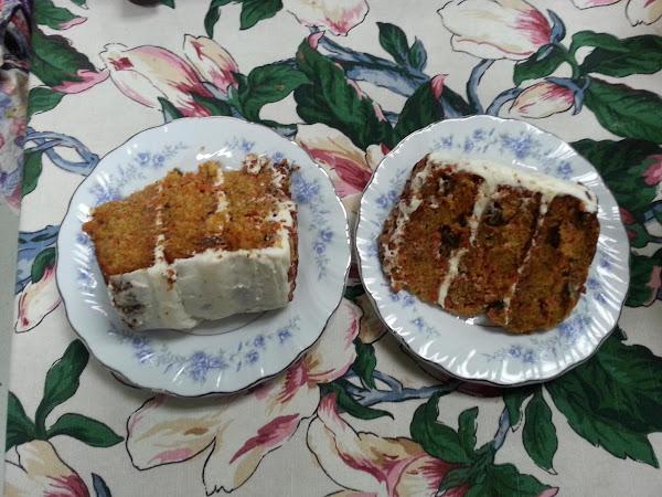 Carrot Cake W/ White Choc. Cream Cheese Frosting Recipe