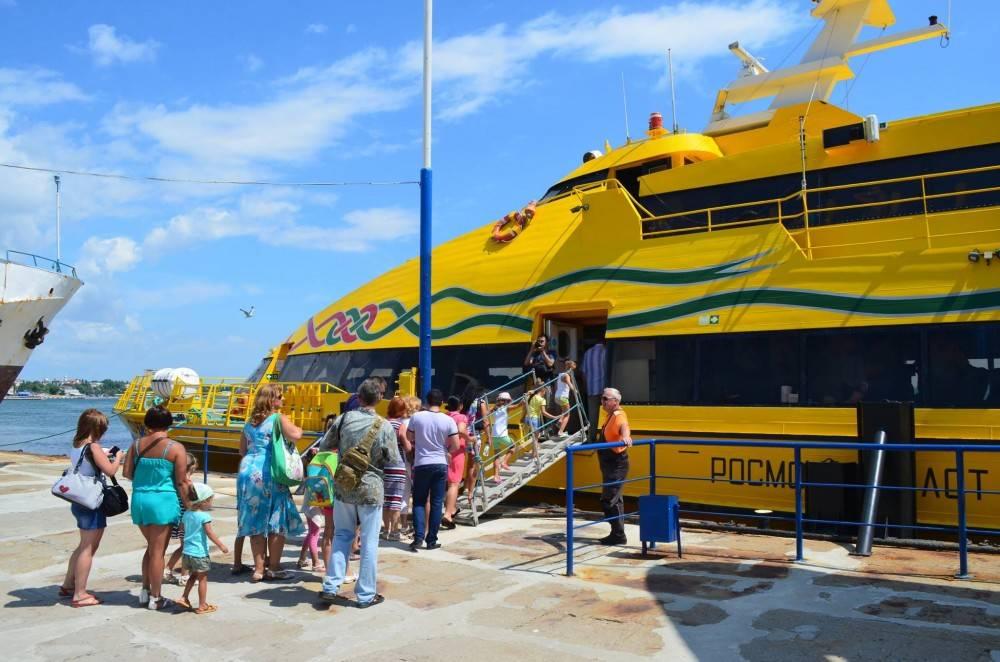 Морские пассажирские перевозки из феодосии спецтехника б у в нн авито