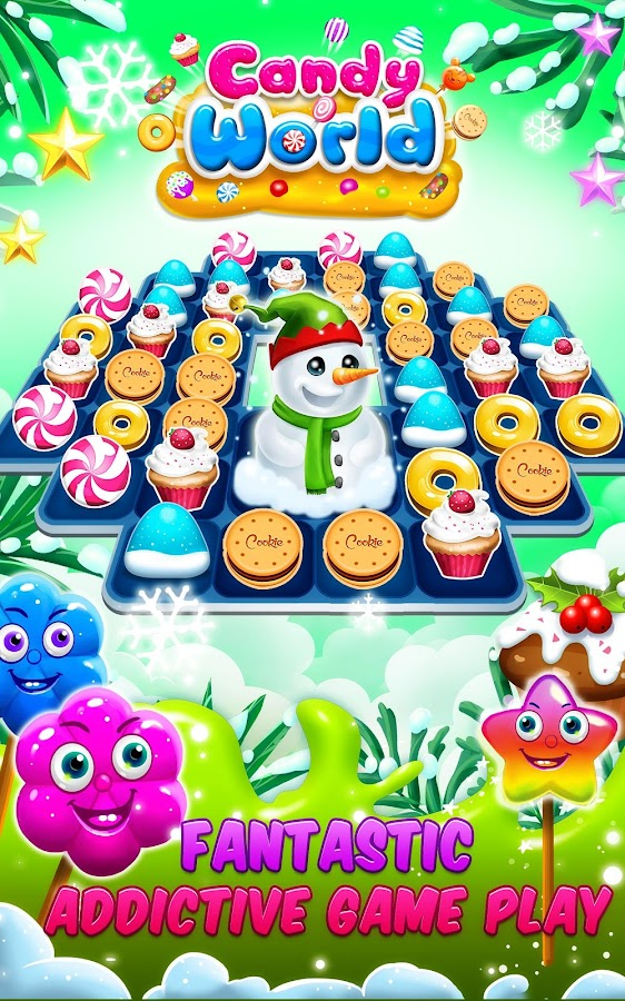 Candy World Fever- screenshot