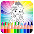 Coloring Book for Sofia icon