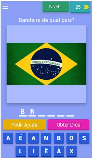 Que Pau00eds u00e9 Esse? Jogo das Bandeiras e Brasu00f5es android2mod screenshots 1