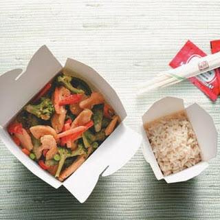 Thai Chicken Stir-Fry.