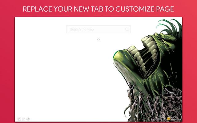 Hulk Wallpaper HD Custom New Tab