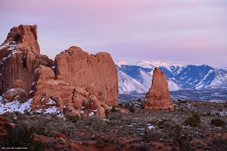 Photo: Jaws: Pink light at sunset in Arches National Park. Bigger and Prints: http://smu.gs/15LVFmU
