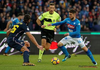 Mertens contribue bien à la victoire contre Praet, l'Inter craque !