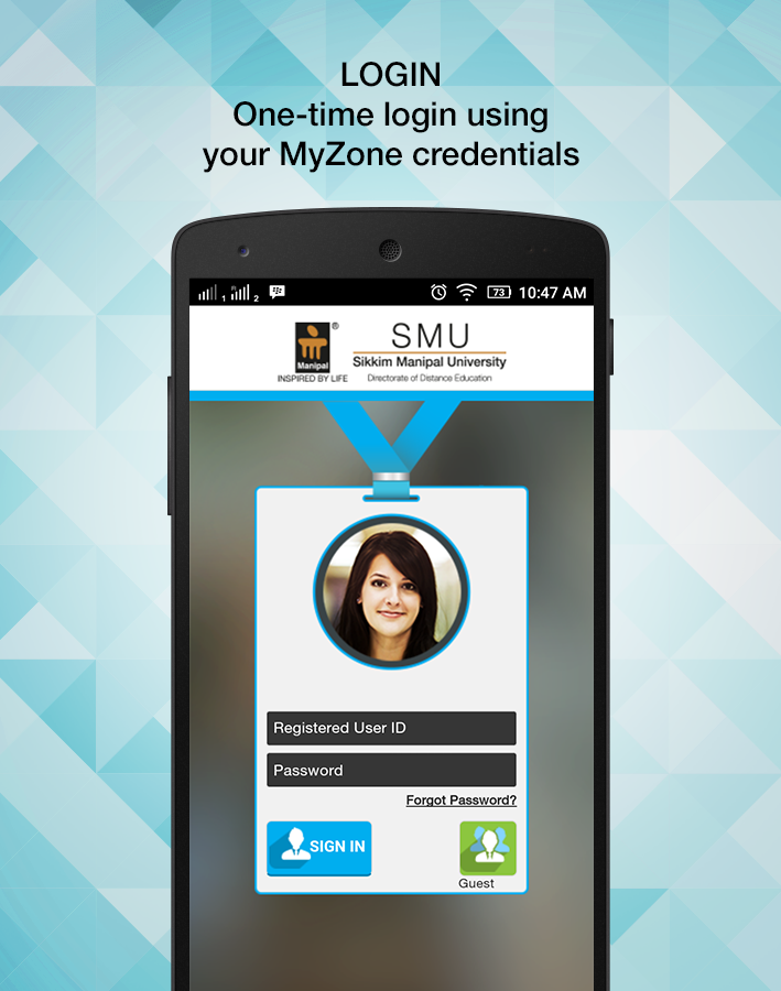 SMU-DE MYZONE- screenshot