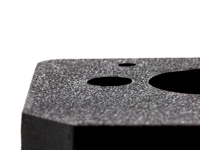 "LayerLock Powder Coated PEI Build Plate 12"" x 12"""