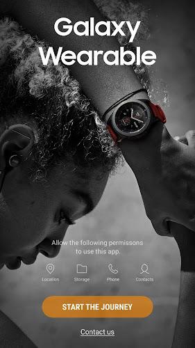 Galaxy Wearable (Samsung Gear) Android App Screenshot
