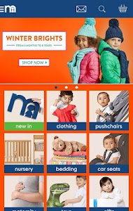 Mothercare screenshot 1