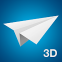 Paper Planes, Airplanes - 3D Animated Instructions icon