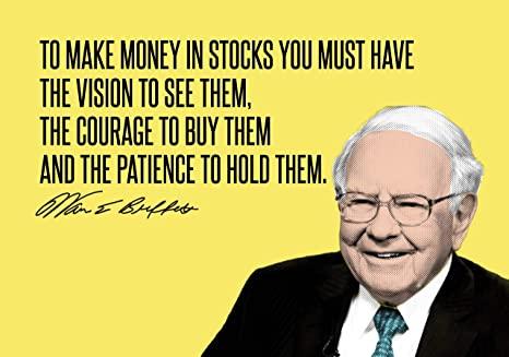 Why market down is good news, Warren Buffett, be patient