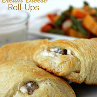 Mom's Chicken and Cream Cheese Roll-Ups.
