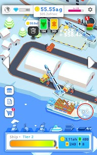 Idle Port Tycoon Mod Apk Download For Android and Iphone 8