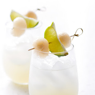 Lychee Lime Fizz.