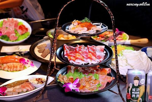 悅上引海鮮和牛鍋物|台中頂級火烤兩吃,日本A5和牛究極美味,冰淇淋星巴克咖啡飲品無限暢飲