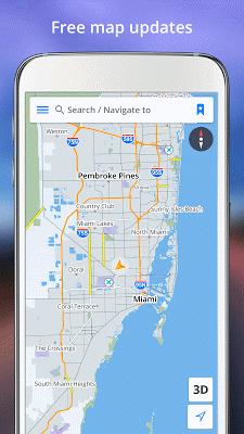 GPS Navigation - screenshot