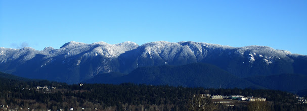 Photo: Fresh Snow on Cascadia Range