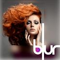 Blurry photo editor - Bokeh camera effect icon