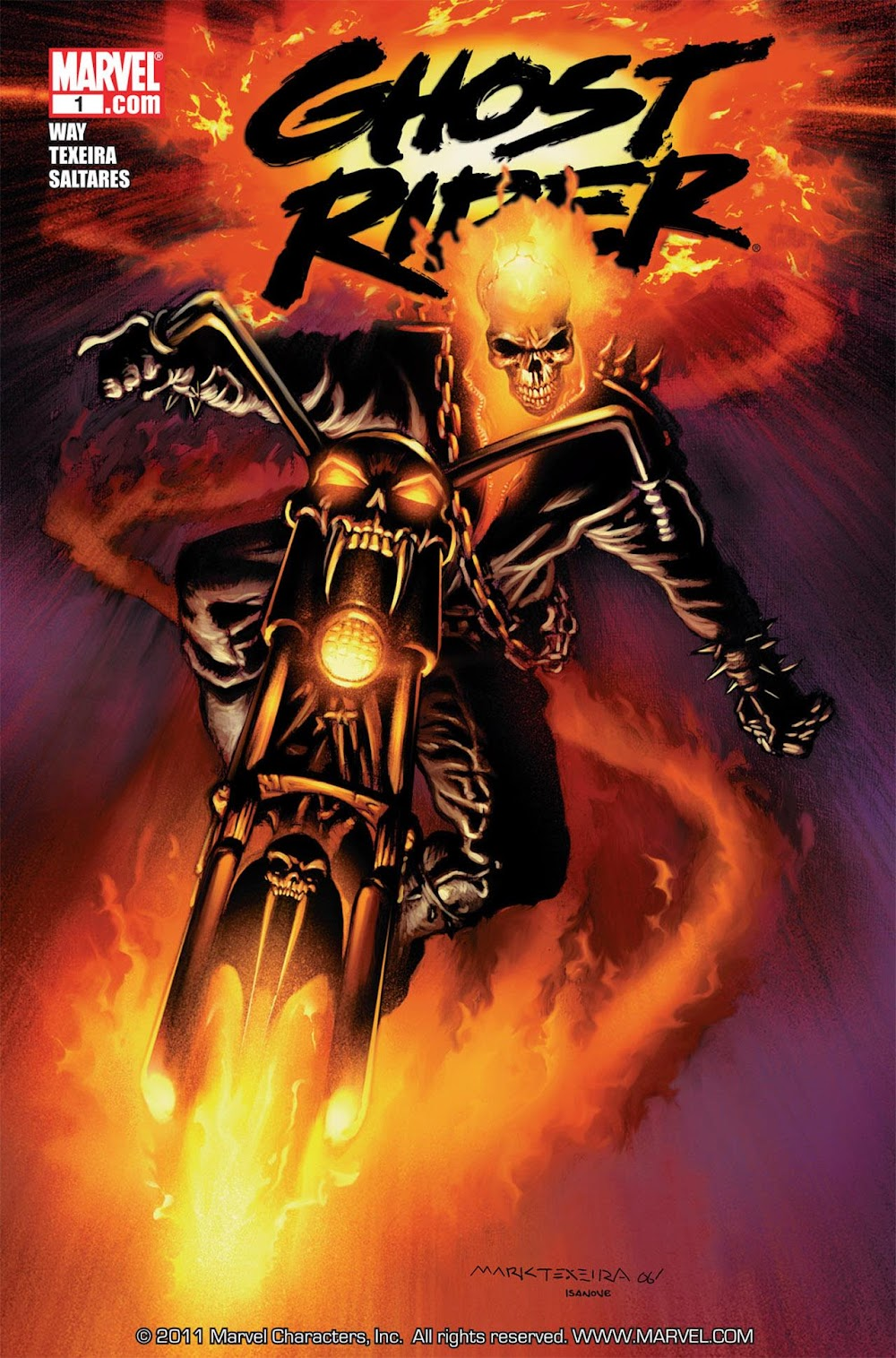 Ghost Rider Vol.3 (2006) - complete
