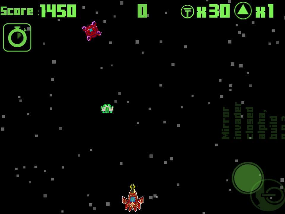 Mirror Invaders- screenshot